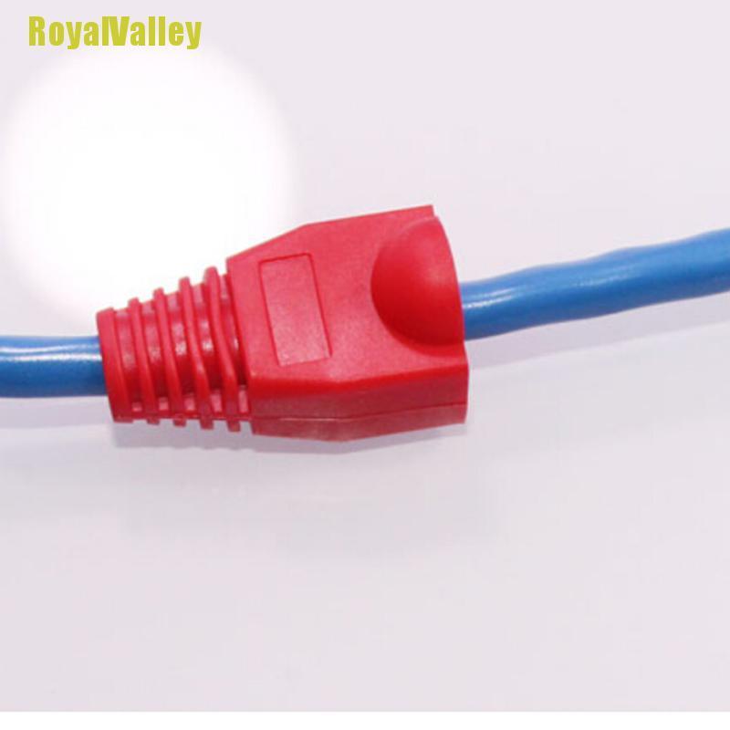 Bộ 50 Đầu Nối Dây Cáp Mạng Ethernet Rj45 Sf5 Yym