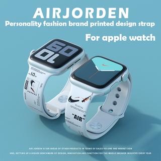 Dây đeo silicon cho đồng hồ thông minh apple watch iwacth T500/X6/X7/F8/F9/F10