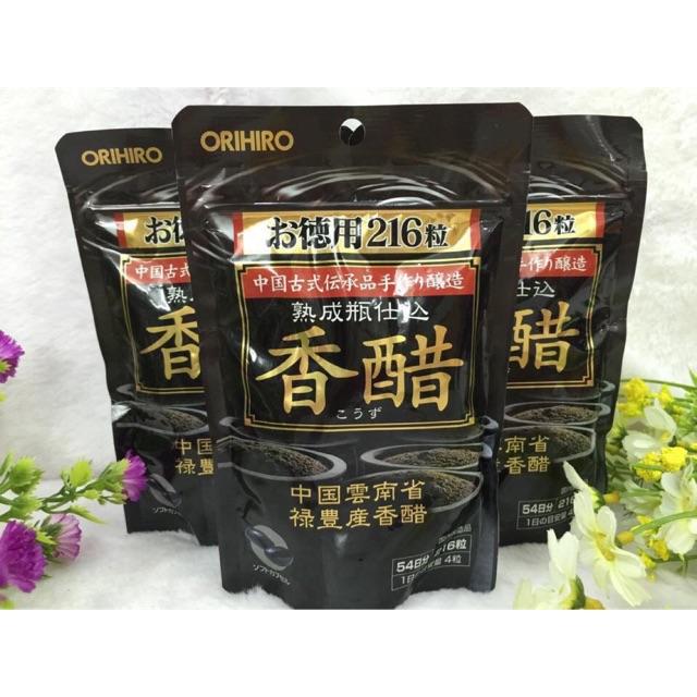 Viên uống giảm cân giấm đen orihiro Nhật Bản gói 216 viên - 2589656 , 1124169373 , 322_1124169373 , 200000 , Vien-uong-giam-can-giam-den-orihiro-Nhat-Ban-goi-216-vien-322_1124169373 , shopee.vn , Viên uống giảm cân giấm đen orihiro Nhật Bản gói 216 viên