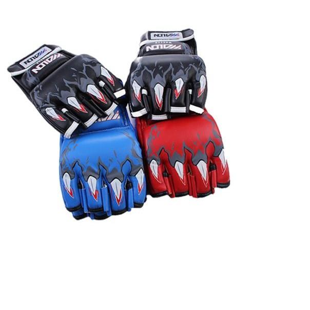Gang tay Boxing hở ngón - Đen