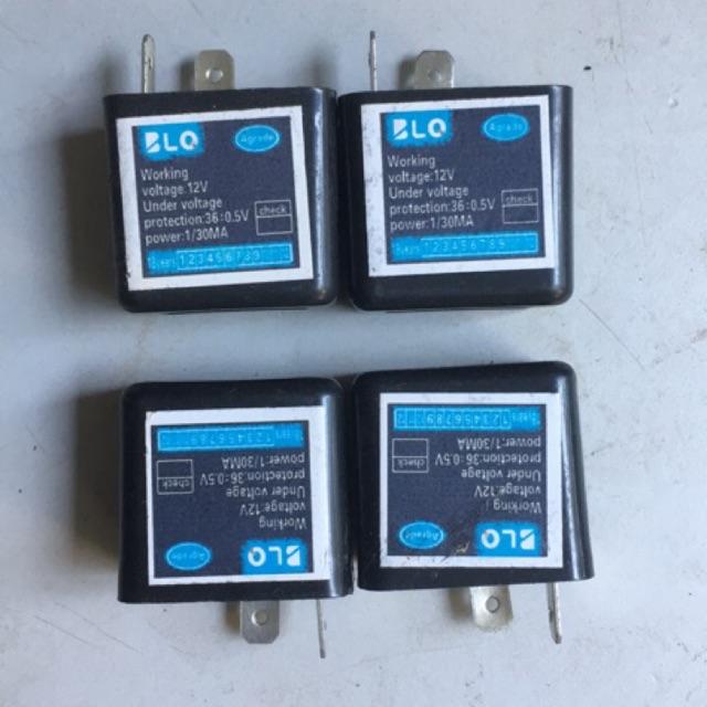 Chíp xi nhan xe điện ( 12V và 48V )