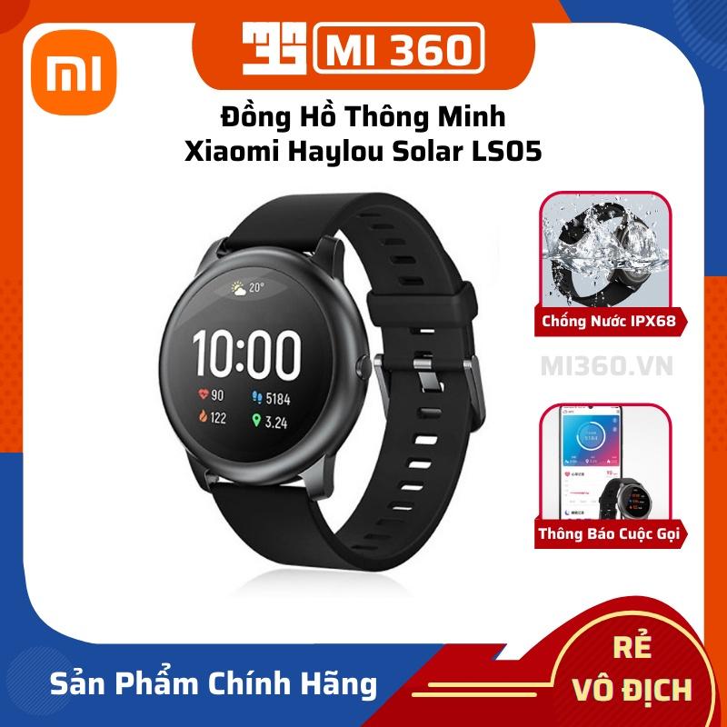 Đồng Hồ Thông Minh Xiaomi Haylou Solar LS05✅ Thông Báo Điện Thoại Và Tin Nhắn✅ Kết Nối APP✅ Bản Quốc Tế Chính Hãng