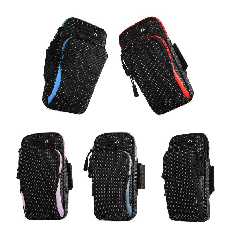 Túi đựng điện thoại đeo tay chạy bộ đựng vừa máy dưới 7inch Vải Dù Chống Nước CN07