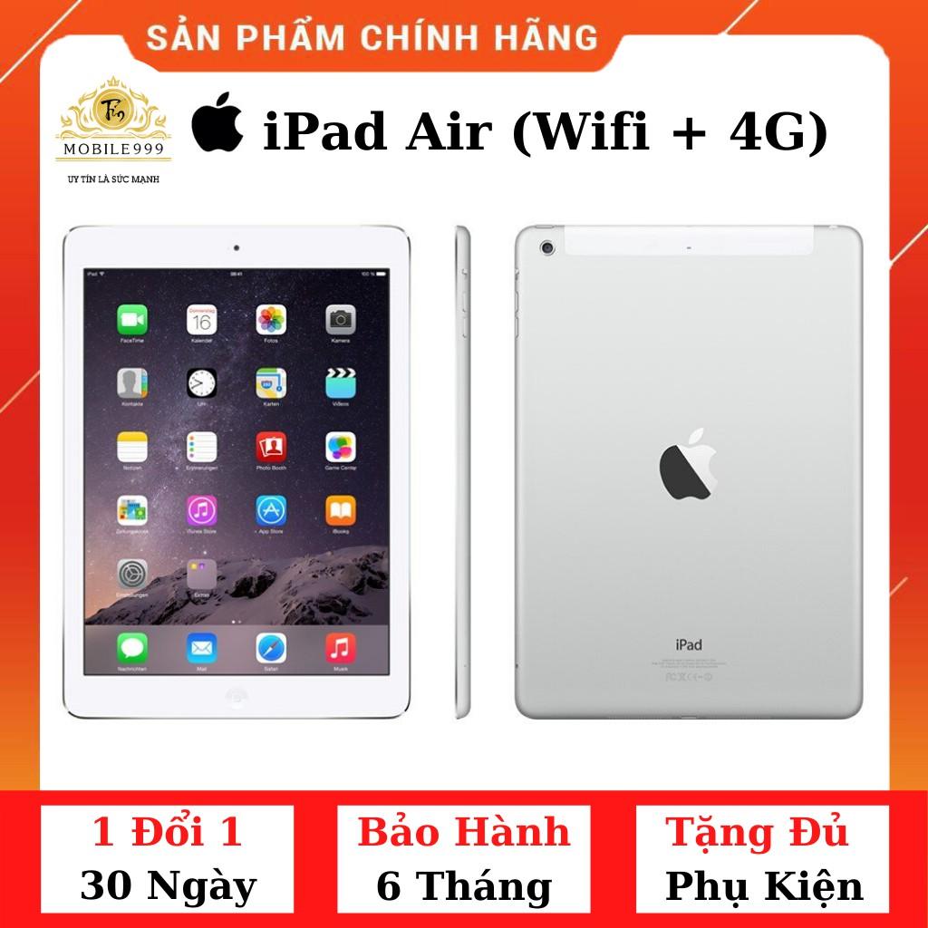 iPad Air 1 (Wifi + 4G) 16GB /32GB /64GB Chính Hãng - Zin Đẹp 99%