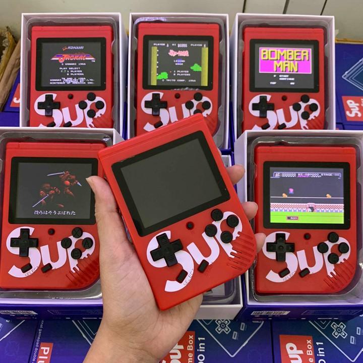 Máy Chơi Game SUP MINI 400 trò Loại 1 giải trí cực vui,  Máy Game Cầm Tay - BH 1 SUNHA SH 3339