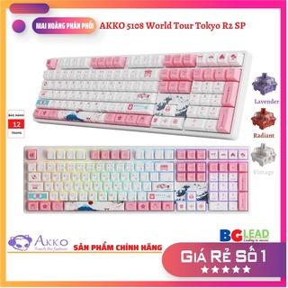 [Chính hãng] Bàn phím cơ AKKO 5108 World Tour Tokyo R2 SP (Hotswap Led RGB AKKO CS Switch) - Mai Hoàng phân phối thumbnail