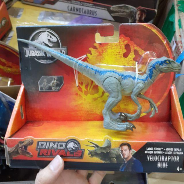Mô hình khủng long Velociraptor Blue hãng Mattel Mĩ