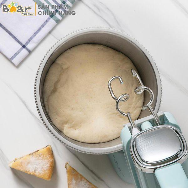 [BẢN QUỐC TẾ][BH18 THÁNG]Máy Đánh Trứng Trộn Bột Đa Năng Bear DDQ-B03V1 (Hàng chính hãng - bảo hành 12 tháng)