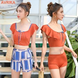 Bộ Bikini 3 Món Phong Cách Hàn Quốc Cho Nữ