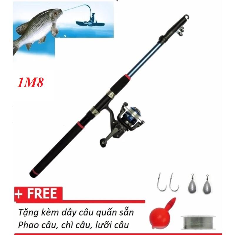 Cần câu cá dài 1m8