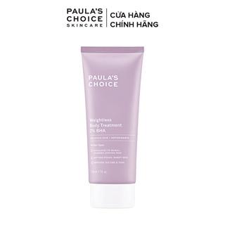 Hình ảnh Kem dưỡng thể ngừa viêm lỗ chân lông Paula's Choice RESIST WEIGHTLESS BODY TREATMENT WITH 2% BHA - 210ml mã 5700-1