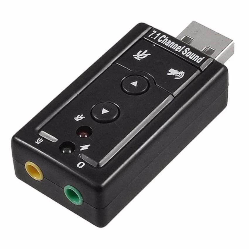 USB Ra Sound 7.1 - 4 Nút điều khiển (Loại tốt)