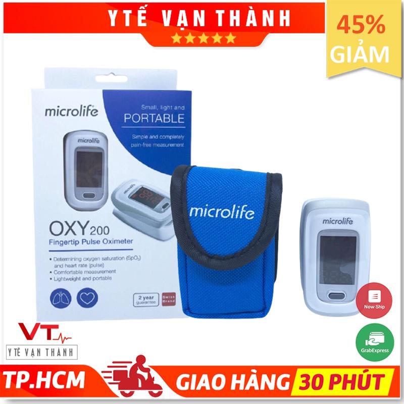 ✅ Máy Đo Nồng Độ Oxy (SPO2) Và Nhịp Tim- Microlife OXY200, Chính Hãng Thụy Sĩ VT0389