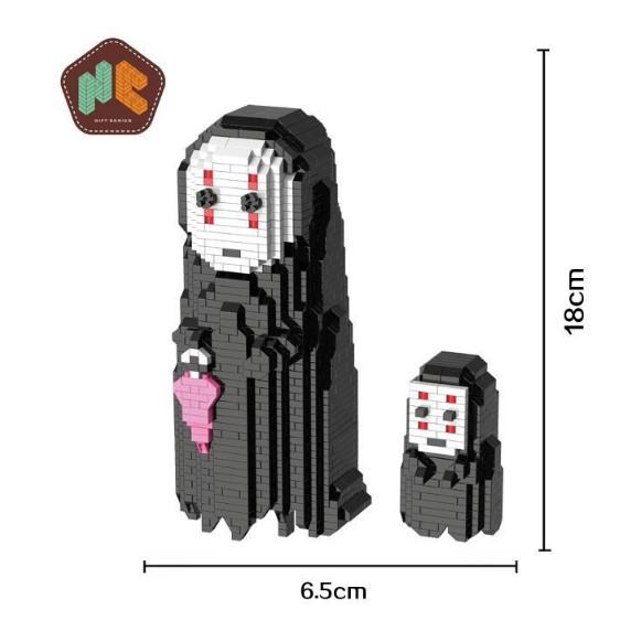 Bộ lắp ghép LEGO – Vô Diện với 1661 mảnh ghép