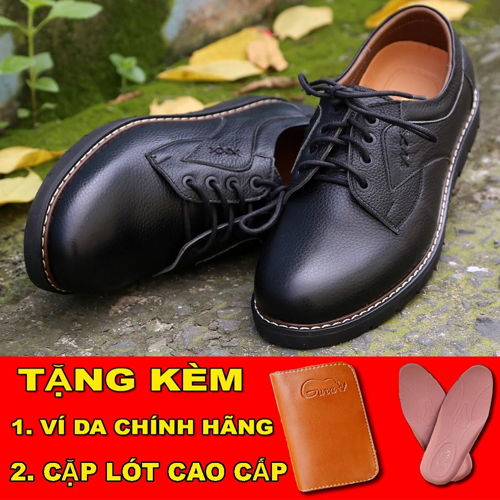 [CHỈ 1 NGÀY] [TẶNG VÍ DA CAO CẤP 290K] giày Tăng Chiều Cao Cho Nam, Giày Tây Cao Cấp, Lịch Lãm Đen Da Hạt  Siêu Hót 2018 - 13833005 , 1589474019 , 322_1589474019 , 778000 , CHI-1-NGAY-TANG-VI-DA-CAO-CAP-290K-giay-Tang-Chieu-Cao-Cho-Nam-Giay-Tay-Cao-Cap-Lich-Lam-Den-Da-Hat-Sieu-Hot-2018-322_1589474019 , shopee.vn , [CHỈ 1 NGÀY] [TẶNG VÍ DA CAO CẤP 290K] giày Tăng Chiều Ca