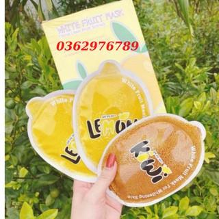 Ủ trắng chanh lemon fruit – hộp 3 gói