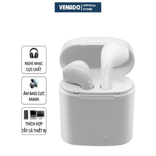 Tai nghe bluetooth I7S TWS âm thanh cực hay ( nghe 2 tai) - Venado thumbnail