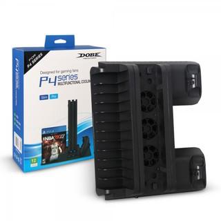 Đế Đứng Tản Nhiệt Kèm Khe Đựng Đĩa PS4 Fat Slim Pro thumbnail