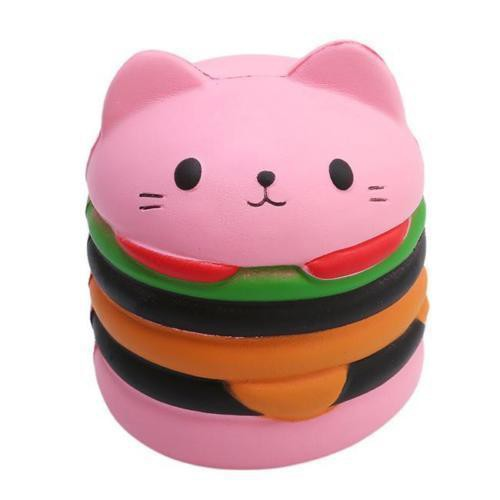 Đồ Chơi Squishy Dẻo Hình Bánh Hamburger 10Cm