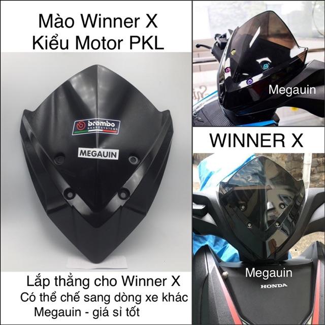 Ốp đầu Mào (mão) Winner X kiểu Motor Phân khối lớn nhiều mẫu
