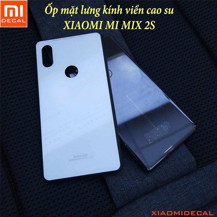 [ Xiaomi MI MIX 2S ] Ốp lưng mặt lưng kính cường lực viền cao su - TRẮNG - 3392917 , 1200386405 , 322_1200386405 , 70000 , -Xiaomi-MI-MIX-2S-Op-lung-mat-lung-kinh-cuong-luc-vien-cao-su-TRANG-322_1200386405 , shopee.vn , [ Xiaomi MI MIX 2S ] Ốp lưng mặt lưng kính cường lực viền cao su - TRẮNG