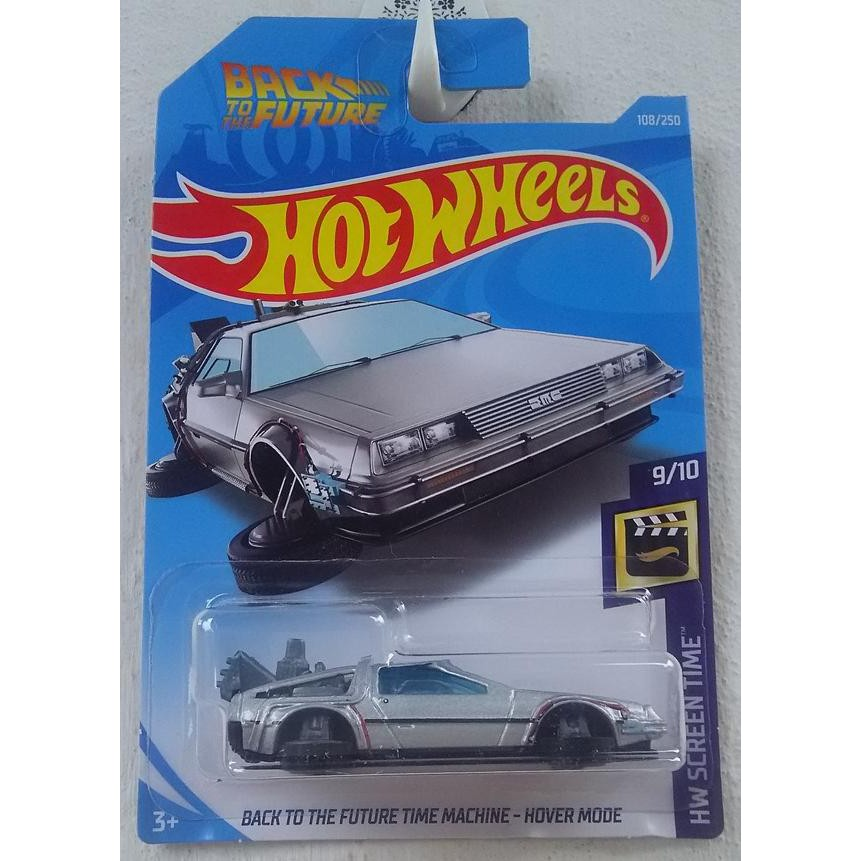 Xe mô hình Hot Wheels Back to the Future Time Machine – Hover Mode FYC50