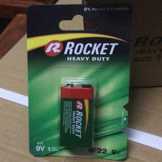 [Chính Hãng] Pin 9v ROCKET 6f22 200mah xuất sứ ROCKET Poland 15000đ/1 viên