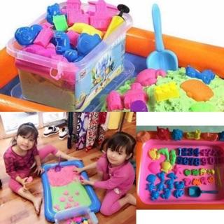 Bộ đồ chơi cát nặn kèm nhiều phụ kiện cho bé