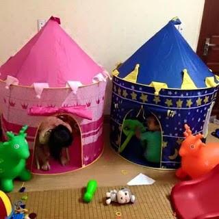 Lều công chúa, hoàng tử cho bé