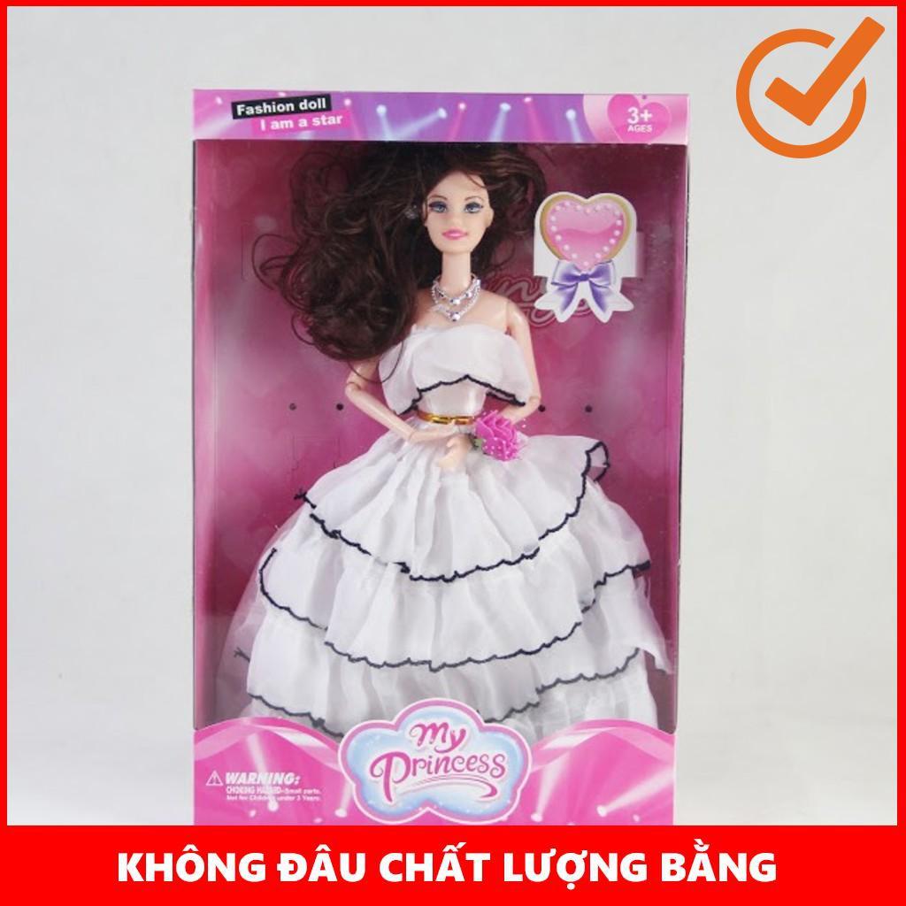 [GIÁ SỐC] Búp bê công chúa váy trắng đáng yêu