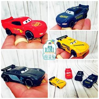 Bộ 4 xe đua disney car 3