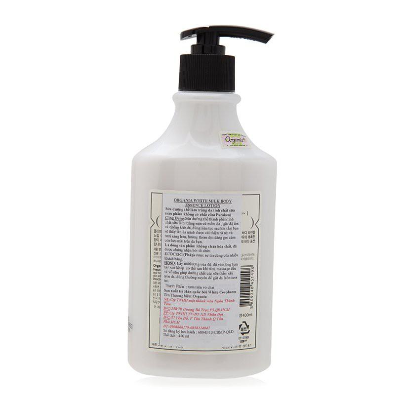 Sữa dưỡng thể trắng da tinh chất sữa White Milk body essence lotion