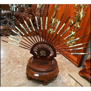 Bộ đũa thờ gỗ hương