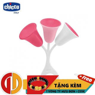 [GIÁ SỐC] Xúc xắc Tulip hồng Chicco