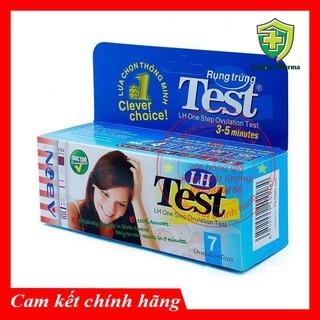 Que thử rụng trứng - Bộ test LH ABON 7 que hộp (Mỹ) thumbnail