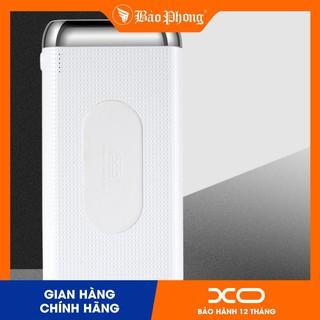 Pin sạc dự phòng Không Dây 10000 mAh XO PB60 dùng cho iPhone iPad Samsung IP 11 12 OPPO XIAOMI dock nhanh xịn chính hãng thumbnail