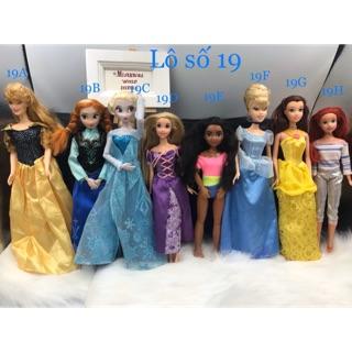 Búp bê công chúa Disney chính hãng. Búp bê công chúa Disney chính hãng Full khớp. Mã Disney19 thumbnail