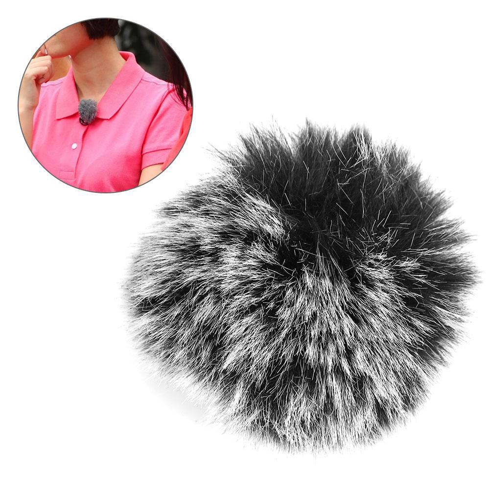 for Black Muff Fur Cover Windshield Microphone Windscreen Durable Wm6/WM8/M1 Furry
