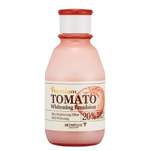 Sữa dưỡng cà chua Premium Tomato Whitening Emulsion Skinfood - DATE T1/2018