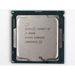 HO CPU intel I5 - 8500+ I5 - 8400 tray ko box+tản 6