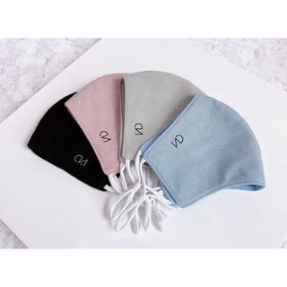 Khẩu trang Linen Plus Duy Ngọc cao cấp, chất liệu sợi bố linen chéo, hàng chính hãng (0550) thumbnail