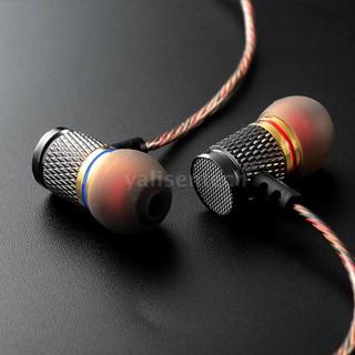Tai nghe nhét tai KZ ED có dây giắc cắm 3.5mm bằng kim loại thiết kế chống ồn tiện lợi
