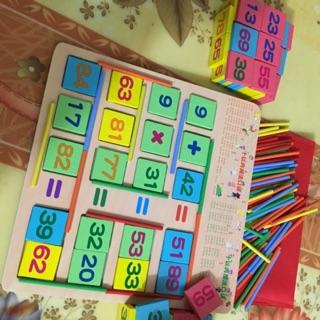 Bộ học toán Domino