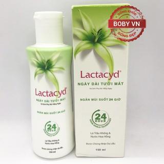 Lactacyd ngày dài tươi mát - Dung dịch vệ sinh phụ nữ hằng ngày - Dung tích 150ml thumbnail