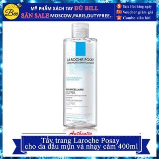 Tẩy trang laroche posay cho da dầu mụn và nhạy cảm 400ml thumbnail
