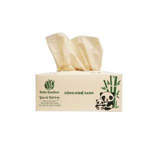 50 Hộp Giấy Gấu Trúc Bobo Bamboo Cao Cấp 100 tờ hộp Siêu Dai thumbnail