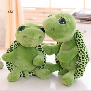 ★_Mini Simulation Turtle Animal Model Soft Plush Toy Home Office Car Ornament