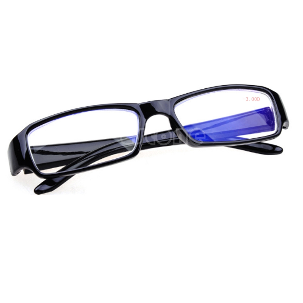 Unisex Black Frames Myopia Glasses -1 -1.5 -2 -2.5 -3 -3.5 -4 -4.5 -5.5 -6