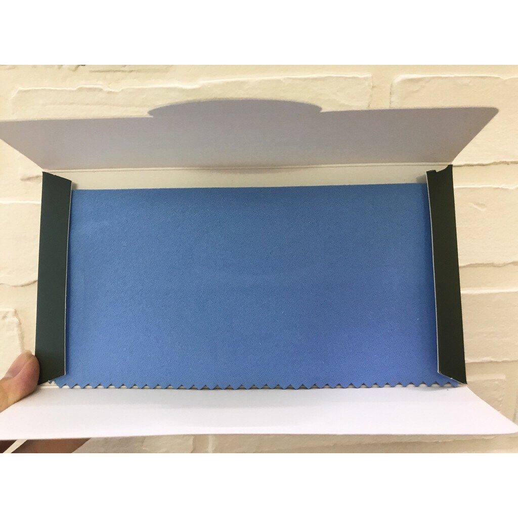 Mộc - Khăn lau bạc khăn lau charm bạc đánh bóng nữ trang size 17x17cm (loại khắn lớn)