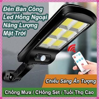 Đèn đường LED cảm biến năng lượng mặt trời 3 chế độ Solar Street Light